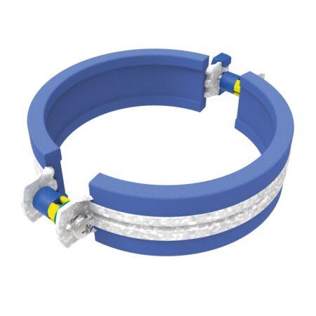 WAVIN AS+ GELUIDSARME BEUGEL met rubberinlage blauw